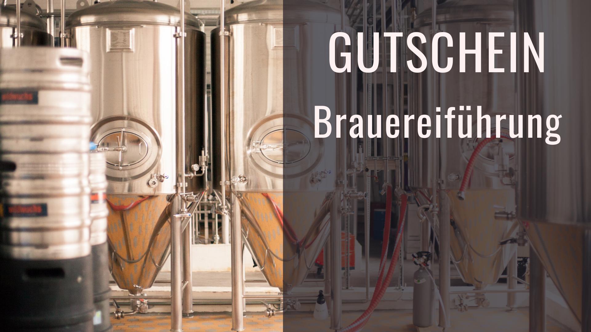 Gutschein Brauereiführung