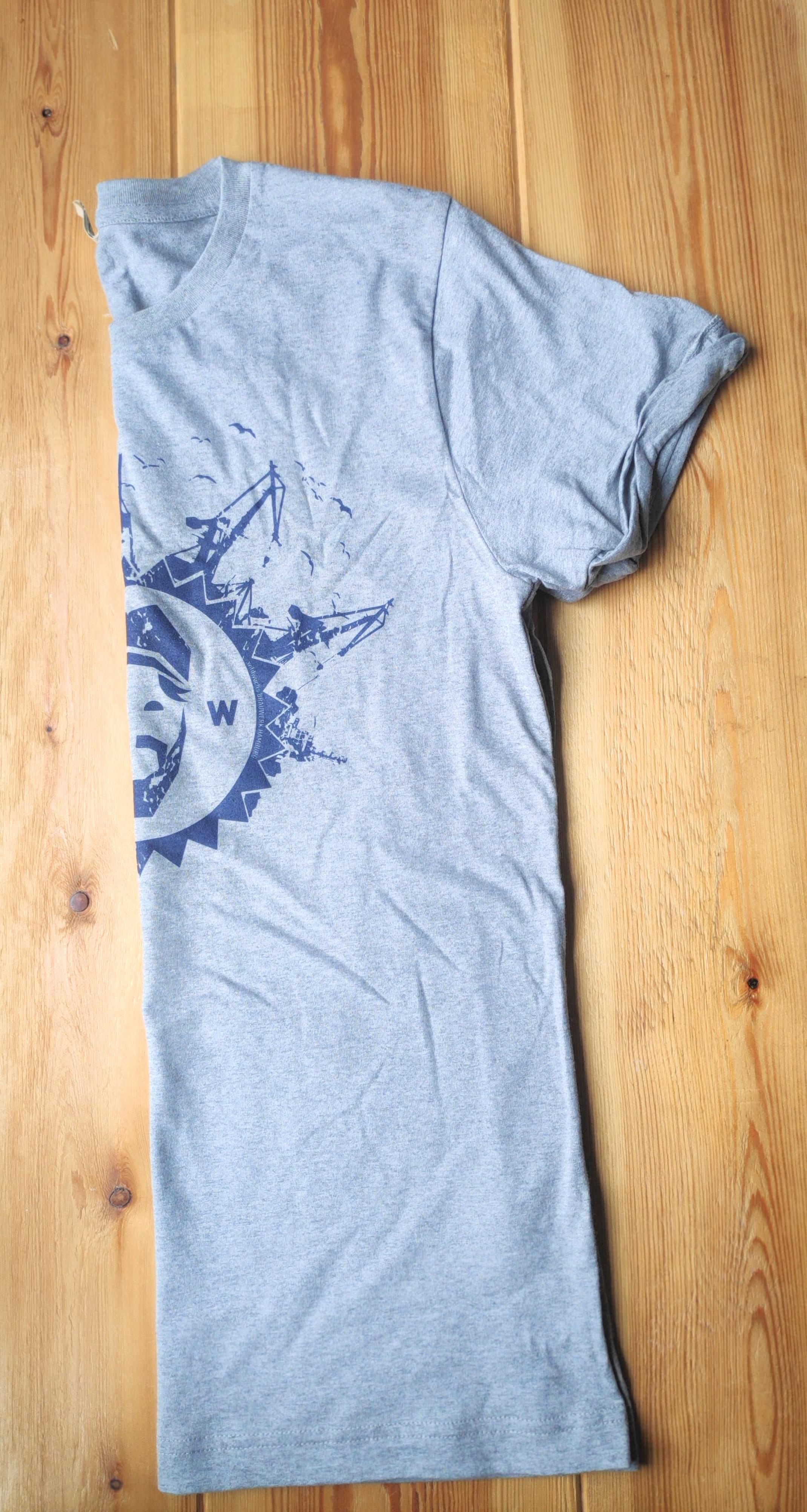 "T-Shirt Herren ""Krempellook"", grau"