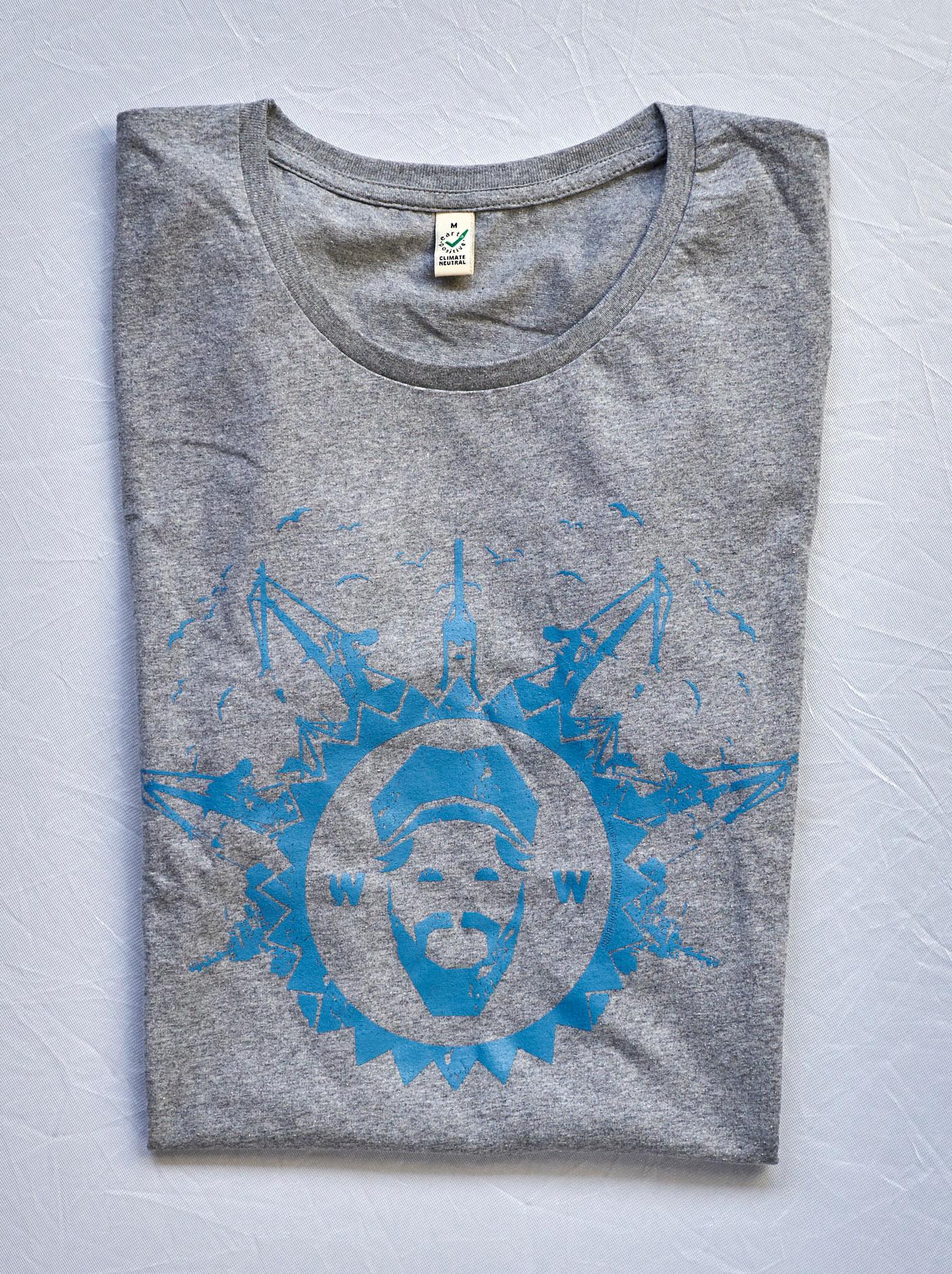 T-Shirt Damen, grau - alte Kollektion