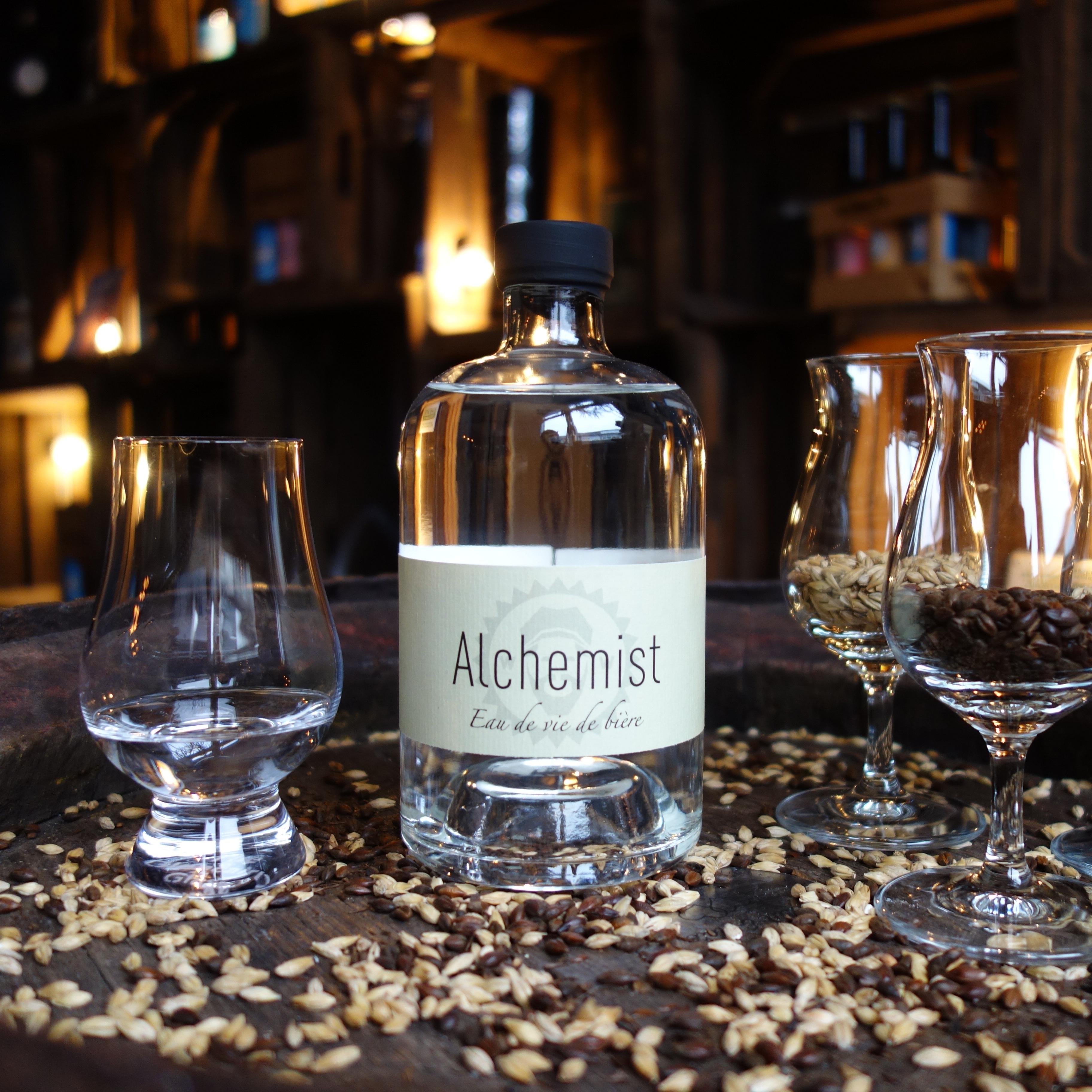 """""""Alchemist"""" – Eau de vie de bière 0,5 L"""