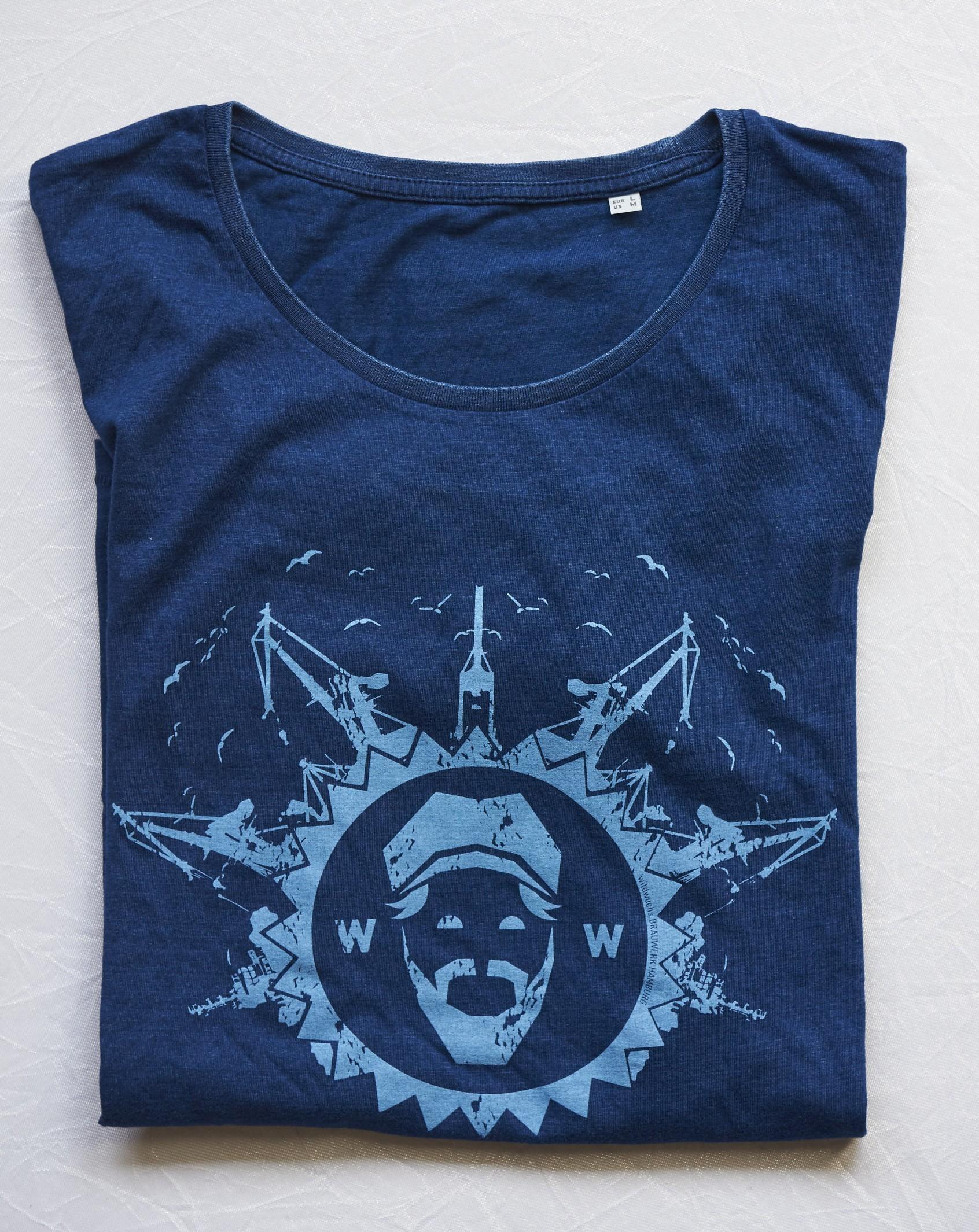 T-Shirt Herren, blau - alte Kollektion