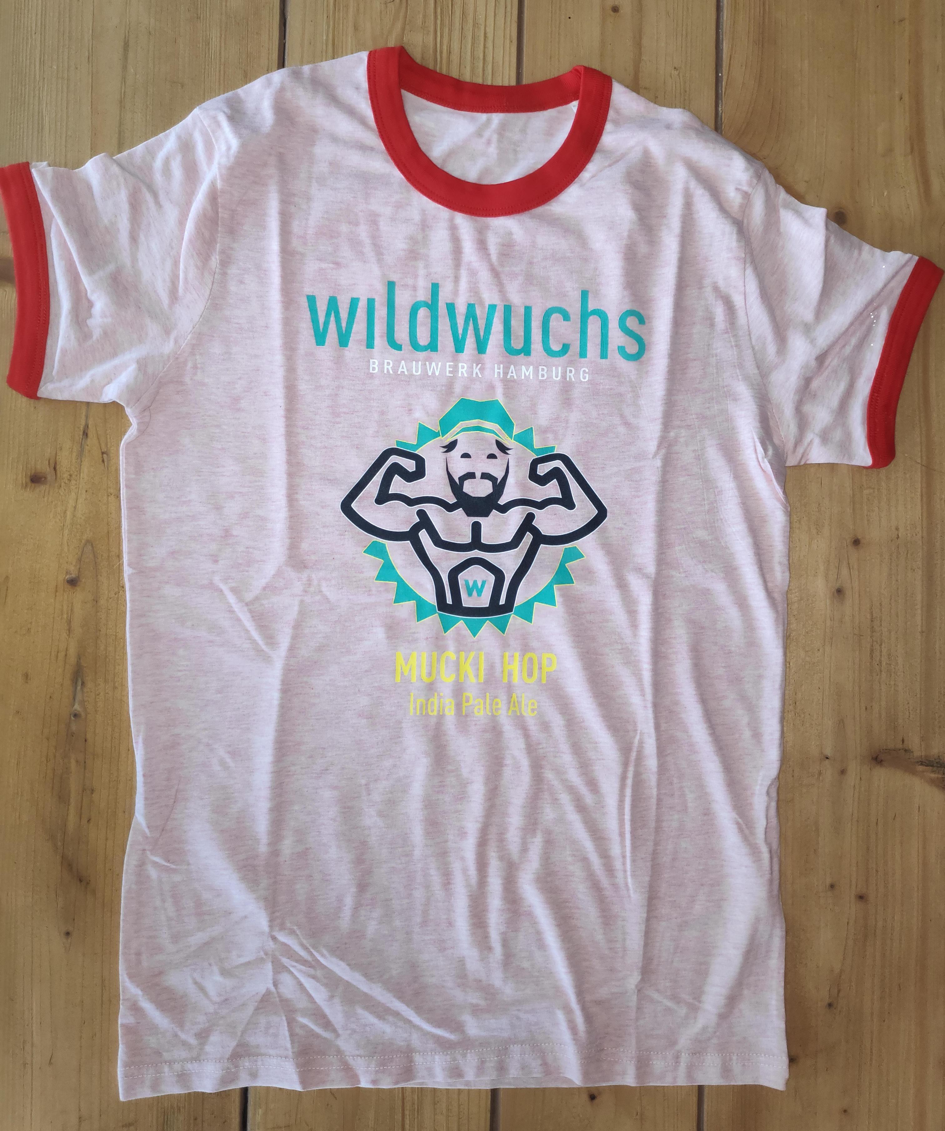 "T-Shirt ""Mucki Hop"", unisex, rosa"