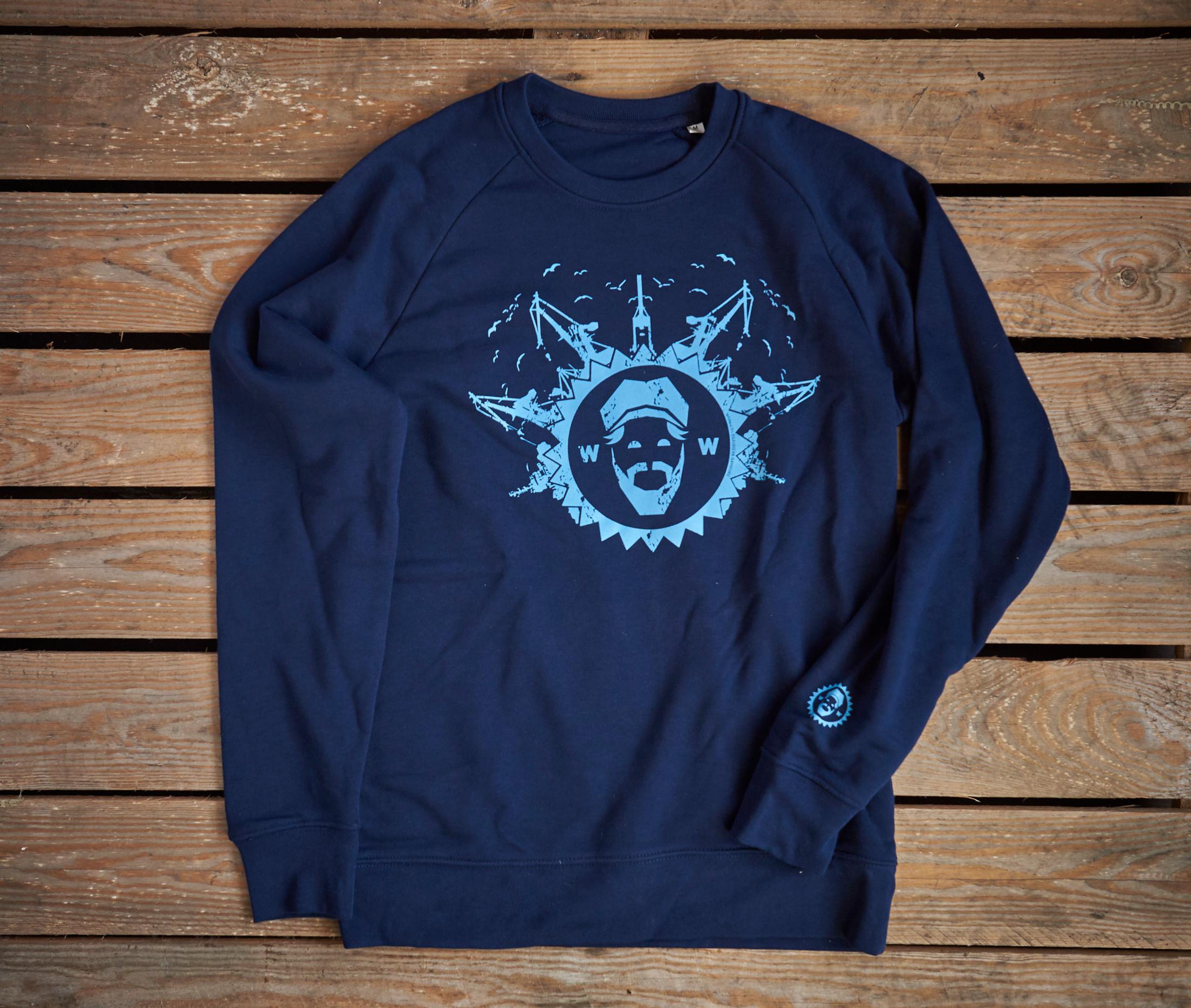Pulli/Sweatshirt unisex, blau