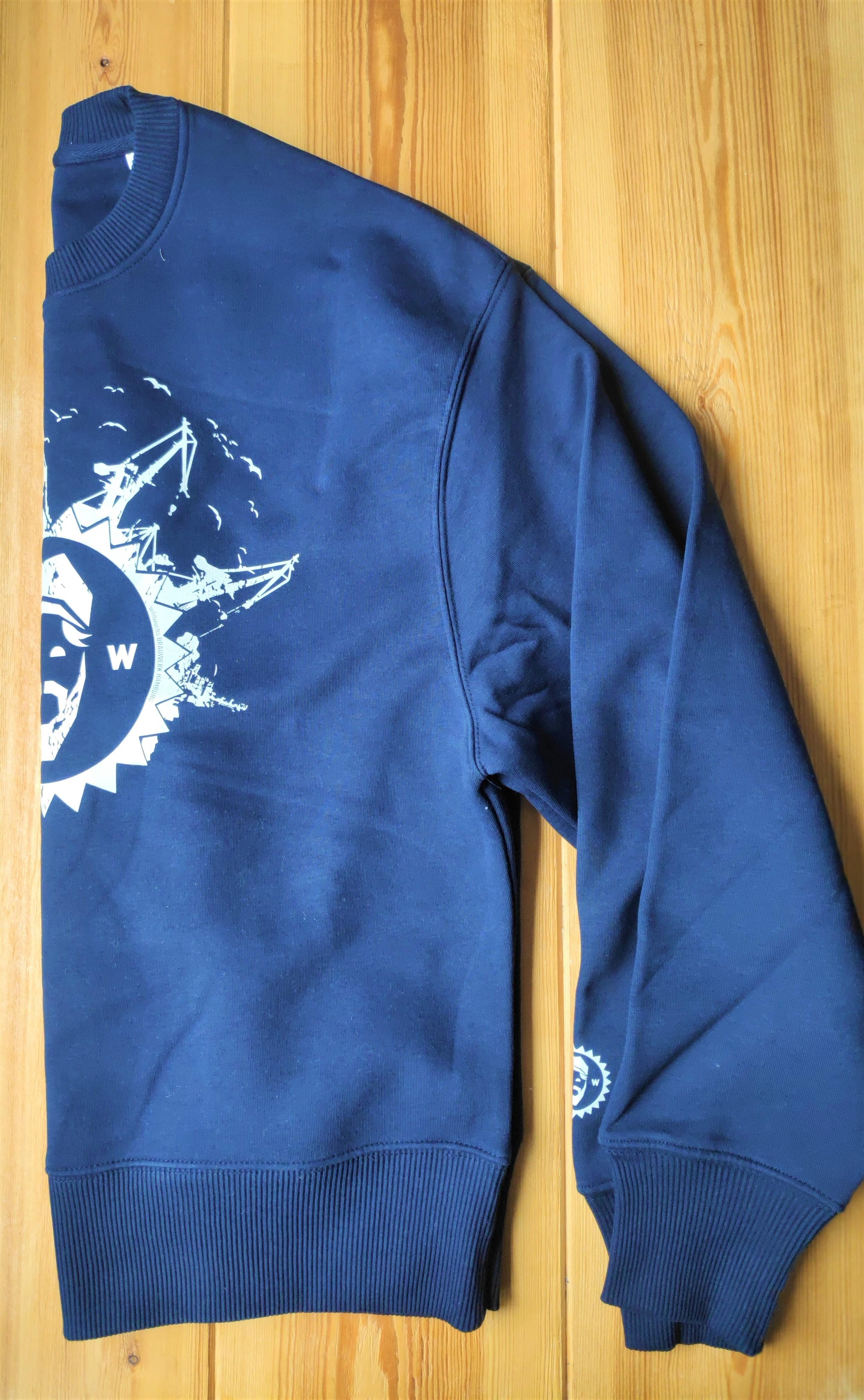 "Pulli/Sweatshirt ""Oversize"" unisex, blau"